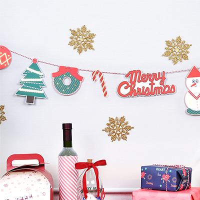 [잼스튜디오] CHRISTMAS GARLAND