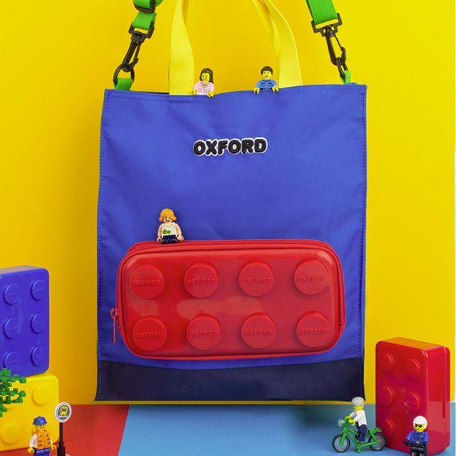 [옥스포드] 옥스포드 블럭 보조가방